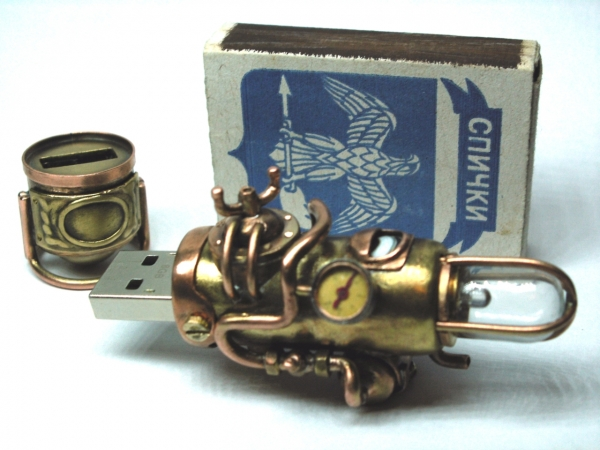 Steampunk флешка. Вторая... (ворклог) (Фото 43)