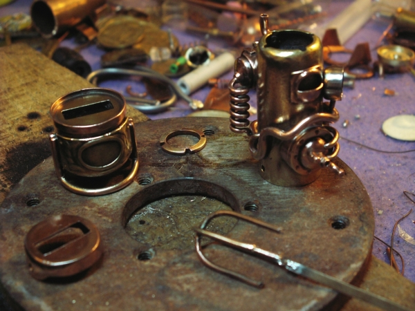 Steampunk флешка. Вторая... (ворклог) (Фото 34)