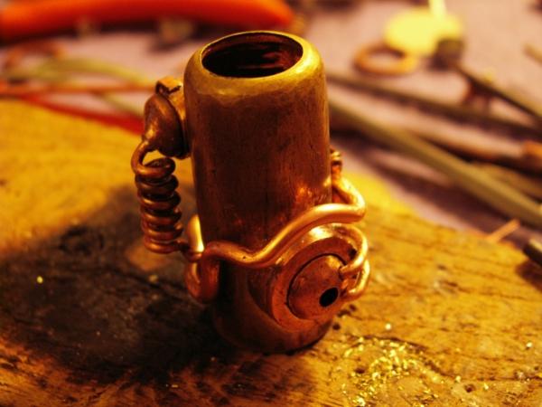 Steampunk флешка. Вторая... (ворклог) (Фото 17)