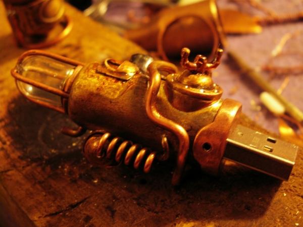 Steampunk флешка. Вторая... (ворклог) (Фото 30)