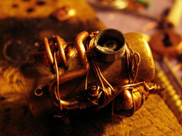 Steampunk флешка. Вторая... (ворклог) (Фото 19)