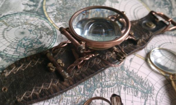 """Стимпанк часы ( steampunk watch )... хронометр """"В поисках потерянного времени""""... вторая попытка . (Фото 2)"""