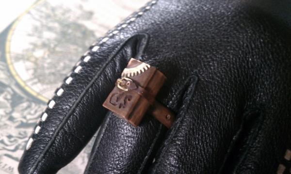 Steampunk кольцо на перчатку одной левой :))) (Фото 5)