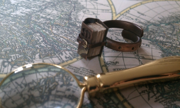 Steampunk кольцо на перчатку одной левой :))) (Фото 3)