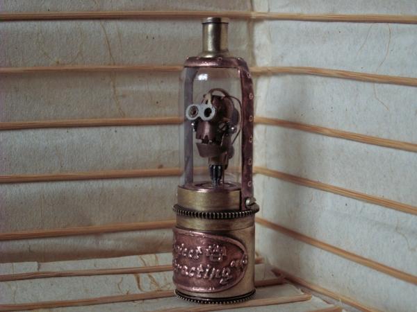 """Steampunk картридер для микро SD... проект """"Извлекающий"""" (Радует нового владельца) (Фото 12)"""