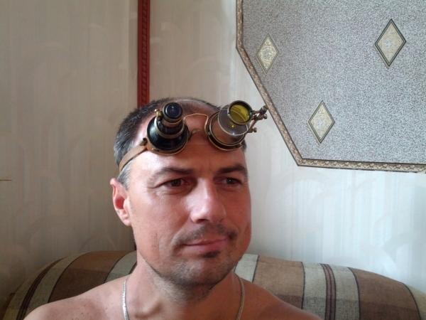 """Гогглы... """"Очки чокнутого лекаря паровых роботов и всяческих изношенных механизмов"""" (Фото 12)"""
