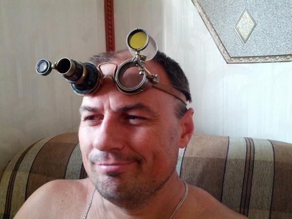 """Гогглы... """"Очки чокнутого лекаря паровых роботов и всяческих изношенных механизмов"""" (Фото 11)"""