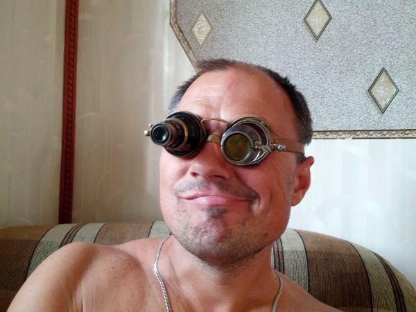 """Гогглы... """"Очки чокнутого лекаря паровых роботов и всяческих изношенных механизмов"""" (Фото 13)"""