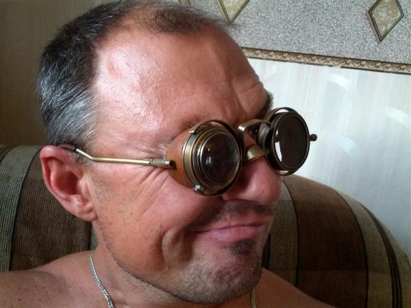 """Гогглы... """"Очки чокнутого лекаря паровых роботов и всяческих изношенных механизмов"""" (Фото 14)"""