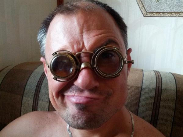 """Гогглы... """"Очки чокнутого лекаря паровых роботов и всяческих изношенных механизмов"""" (Фото 8)"""