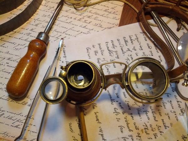 Гогглы... <набор чокнутого лекаря паровых роботов и всяческих изношенных механизмов> Проданы. (Фото 15)