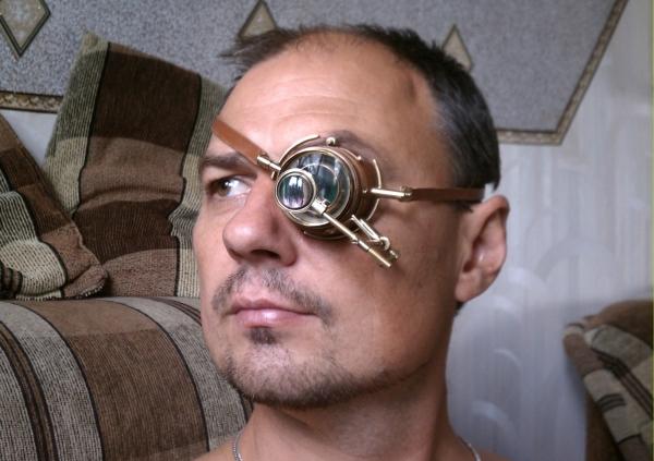 Моногогглы ( монокль) <Глаз небесного лоцмана> Продаются. (Фото 13)
