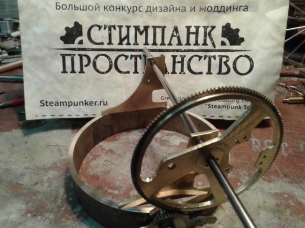 Работа на конкурс стимпанк пространство Переферийный прибор НАБЛЮДАТЕЛЬ