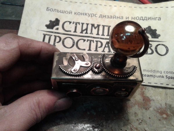 Работа на конкурс стимпанк пространствоПереферийный прибор НАБЛЮДАТЕЛЬ