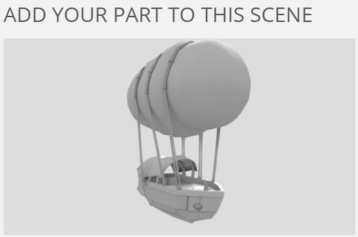 Творческий эксперимент Смоделируй дирижабль