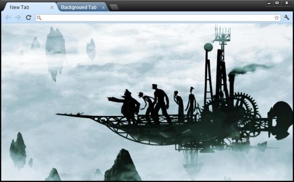 Steampunk - темы для браузера Google Chrome (Фото 4)