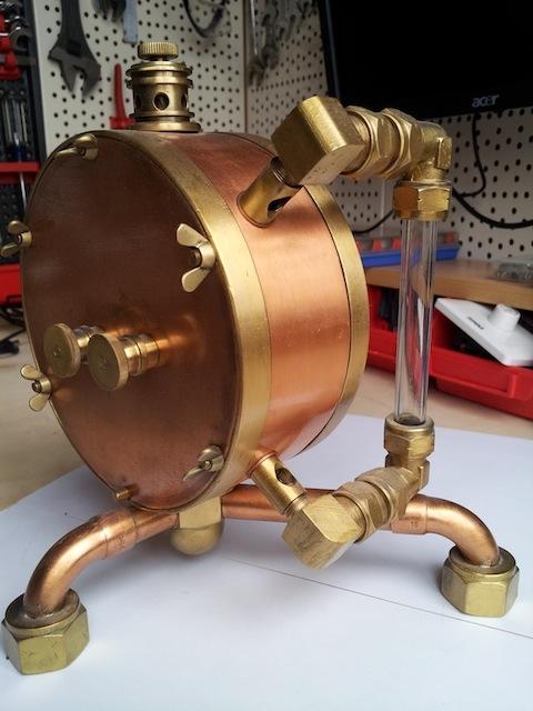 Паро-магнитный часометр барабанного типа (Фото 4)