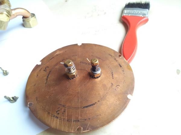 Паро-магнитный часометр барабанного типа (Фото 7)
