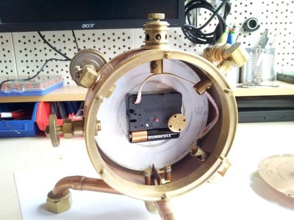 Паро-магнитный часометр барабанного типа (Фото 5)