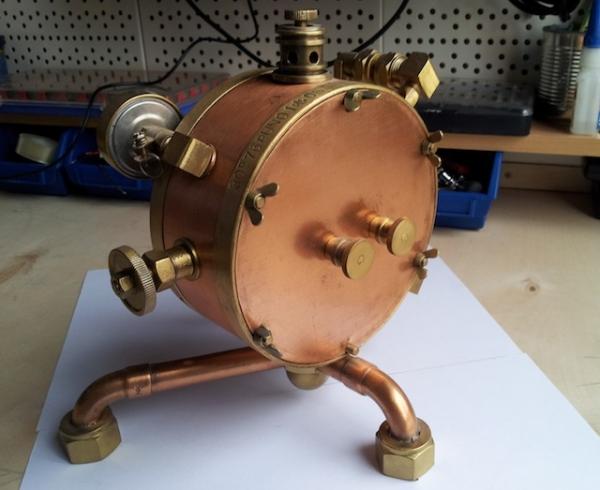 Паро-магнитный часометр барабанного типа (Фото 3)