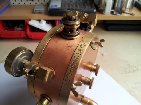 Паро-магнитный часометр барабанного типа (Фото 11)