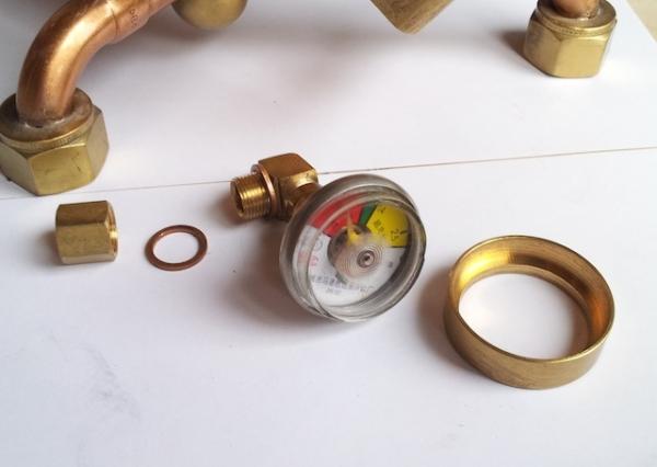 Паро-магнитный часометр барабанного типа (Фото 8)