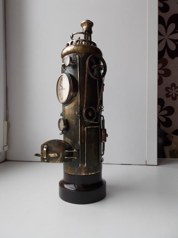 Каминные часы старого кочегара