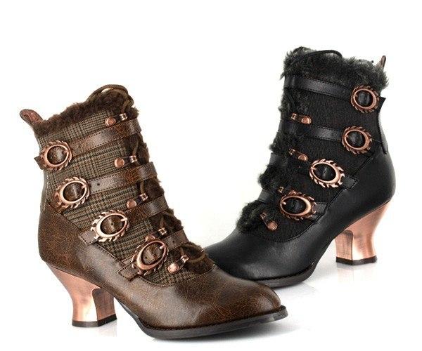 Обувь в стиле Steampunk (Фото 6)