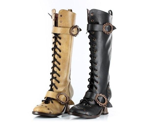 Обувь в стиле Steampunk (Фото 7)