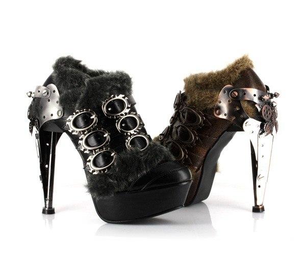 Обувь в стиле Steampunk (Фото 10)