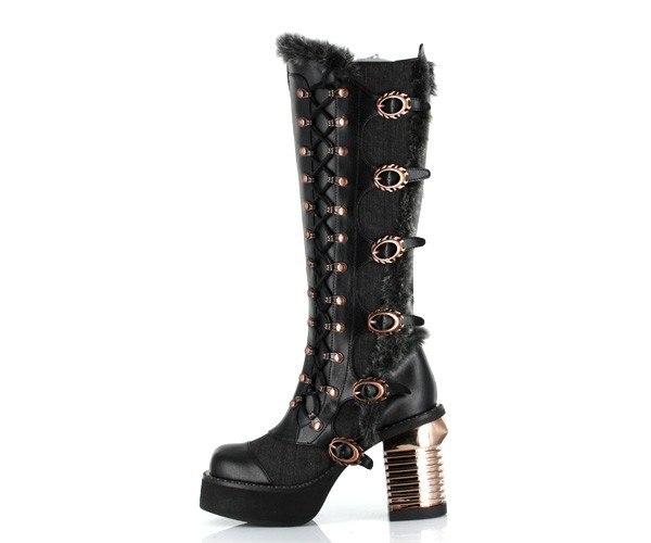 Обувь в стиле Steampunk (Фото 13)