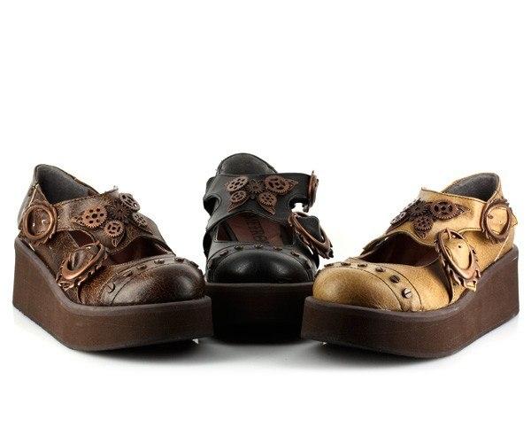 Обувь в стиле Steampunk (Фото 9)