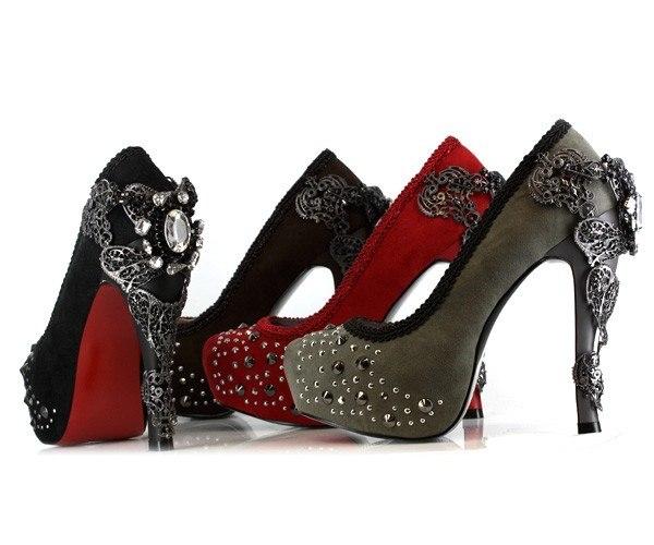 Обувь в стиле Steampunk (Фото 8)
