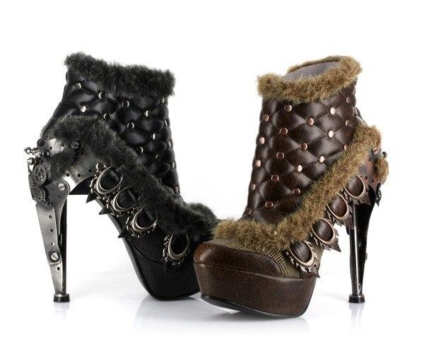 Обувь в стиле Steampunk (Фото 11)
