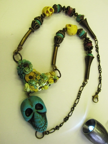первая работа. подвеска для ожерелья. (Фото 2)