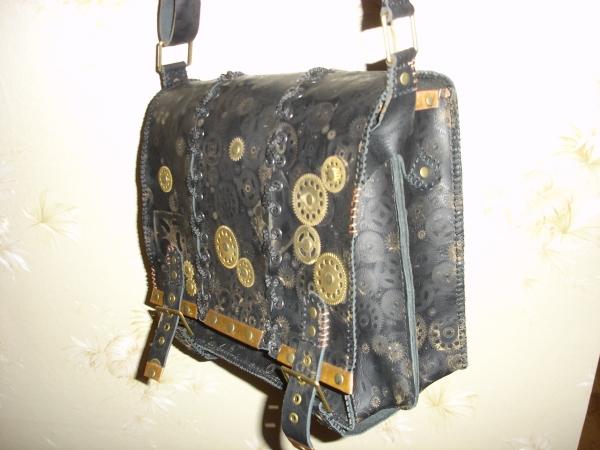 Кожаная сумка) (Фото 2)