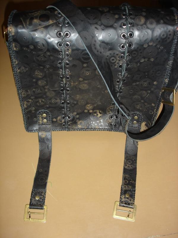 Кожаная сумка) (Фото 6)