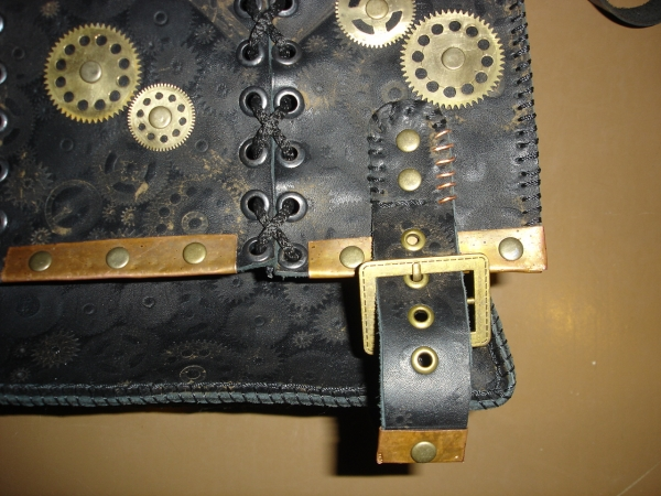 Кожаная сумка) (Фото 5)