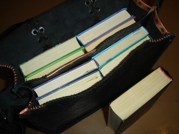 Кожаная сумка) (Фото 10)