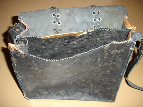 Кожаная сумка) (Фото 8)