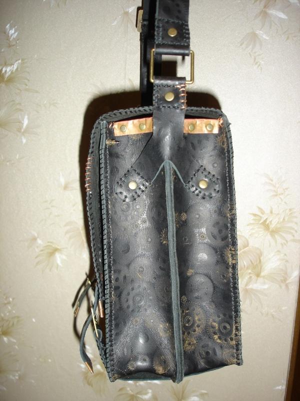 Кожаная сумка) (Фото 3)