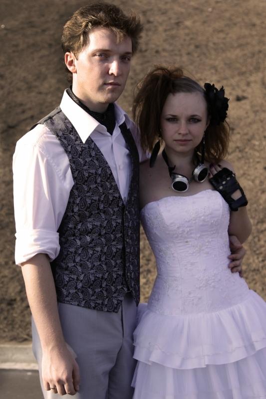 Мы женились))) Еще одна стимпанк свадьба