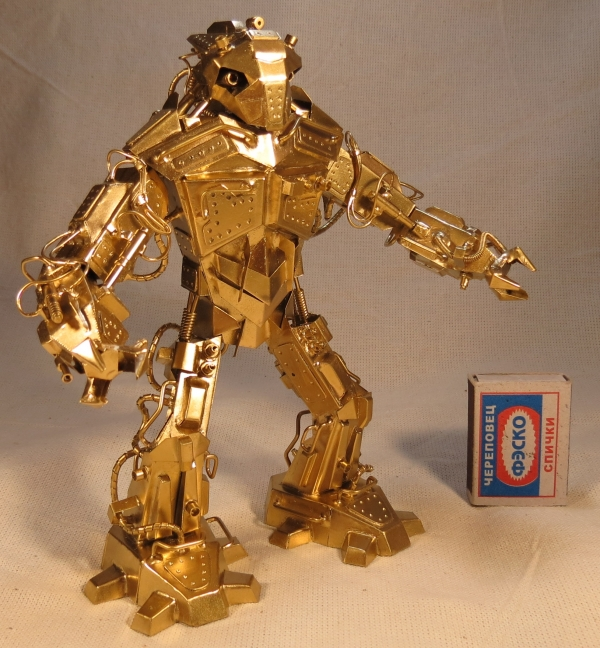 Снова робот )