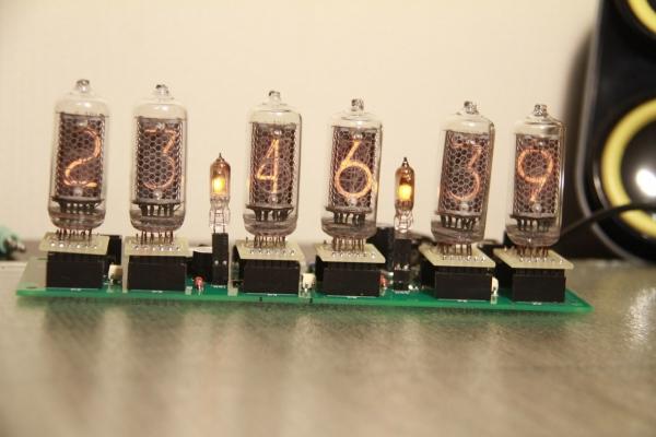 Начинка для часов на лампах ИН-8-2 и ИН-14