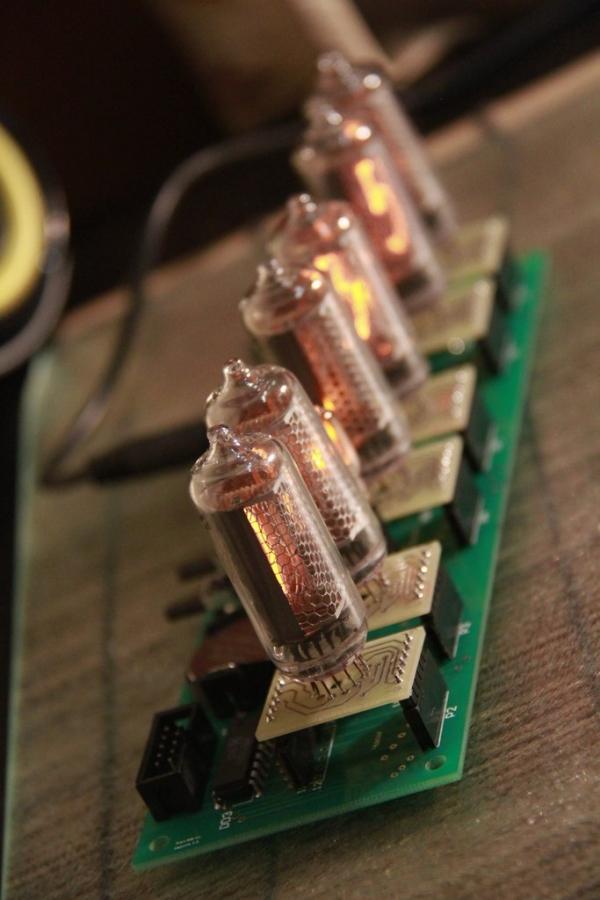 Начинка для часов на лампах ИН-8-2 и ИН-14 (Фото 4)