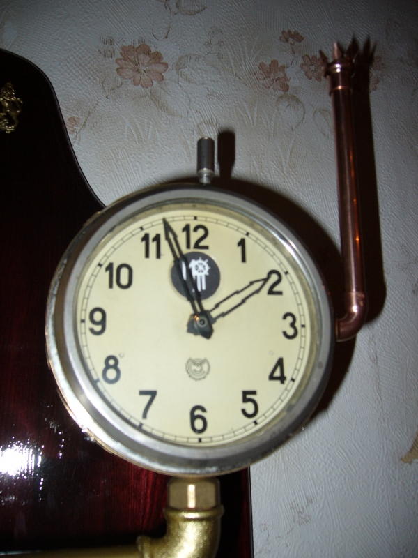 Бра-часы в стиле Steam-punk (Фото 2)