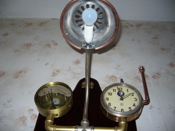 Бра-часы в стиле Steam-punk (Фото 5)
