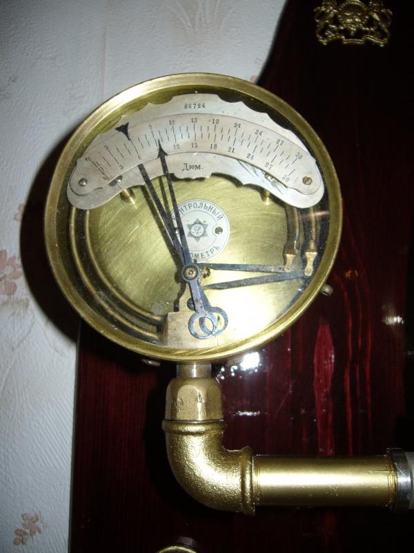 Бра-часы в стиле Steam-punk (Фото 3)