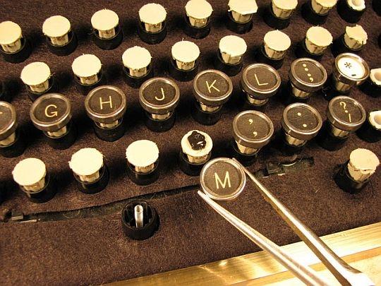 Из кнопок клавиатуры своими руками