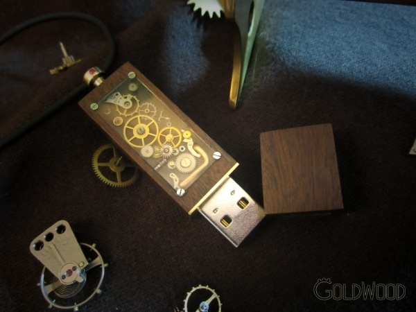 Steam Punk USB, HandMade